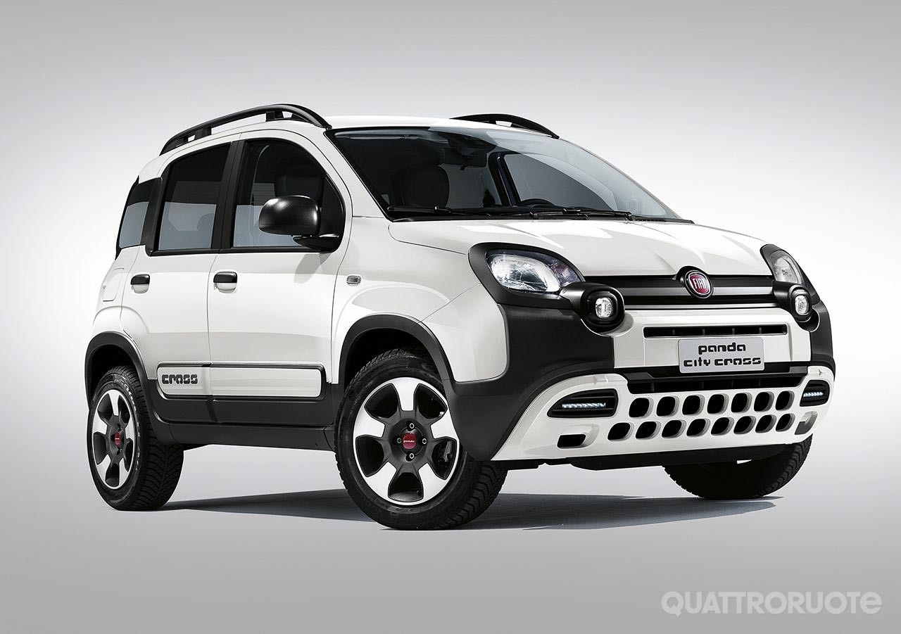 fiat panda la gamma si arricchisce con le nuove city cross e 4x4. Black Bedroom Furniture Sets. Home Design Ideas