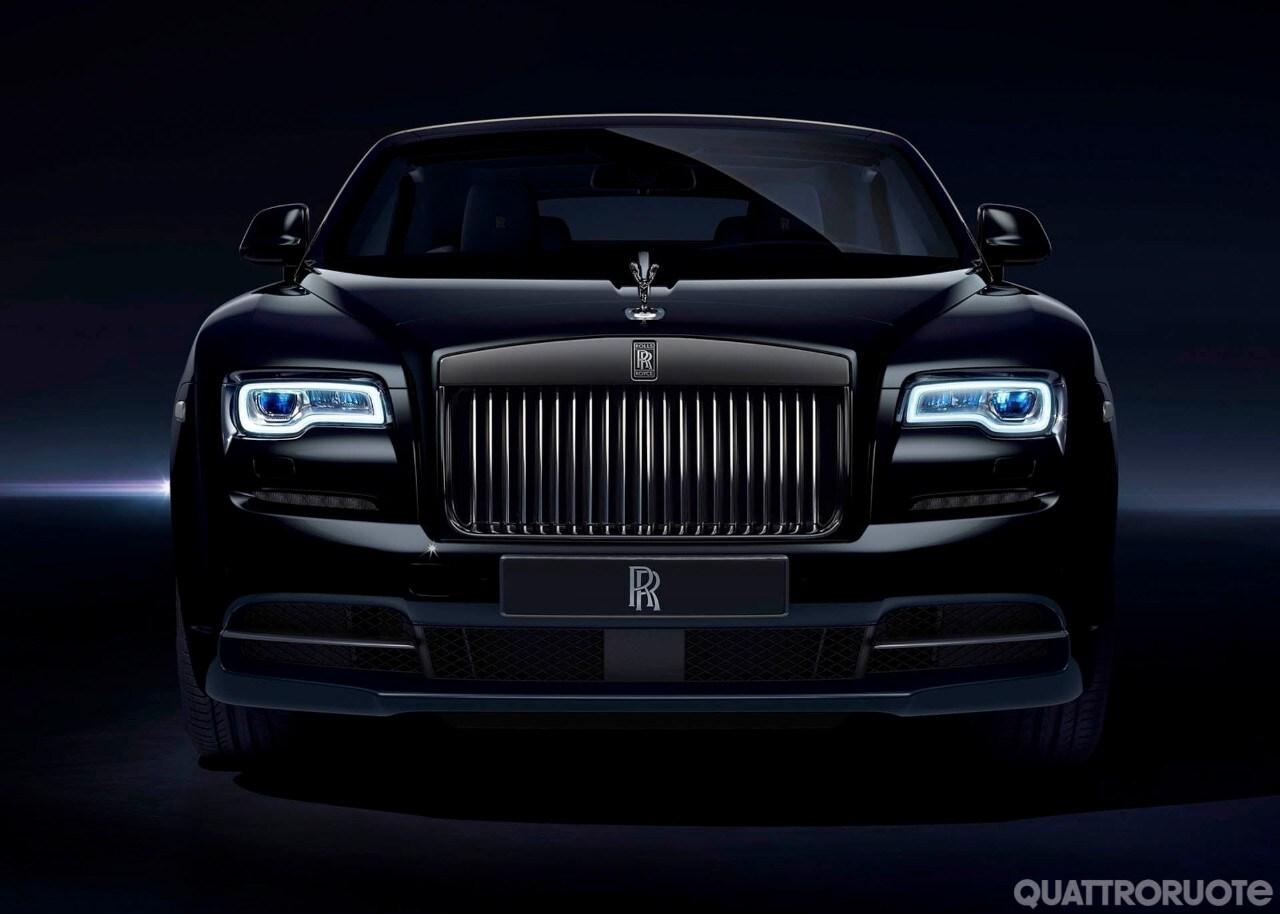 Rolls Royce Dawn A Goodwood La Black Badge Quattroruote It