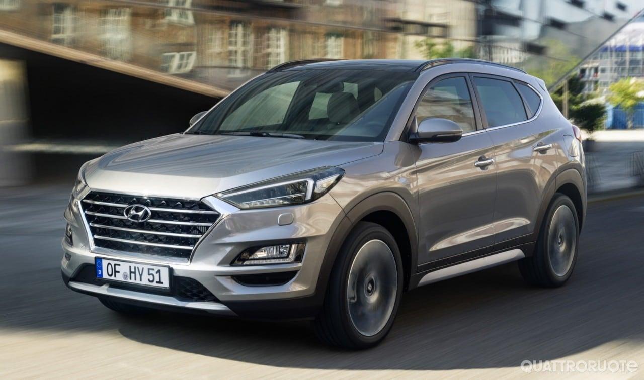 Hyundai Tucson - Con il facelift debutta l'ibrido diesel ...