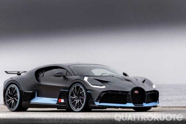 Bugatti Divo L Hypercar Da 5 Milioni Debutta In California