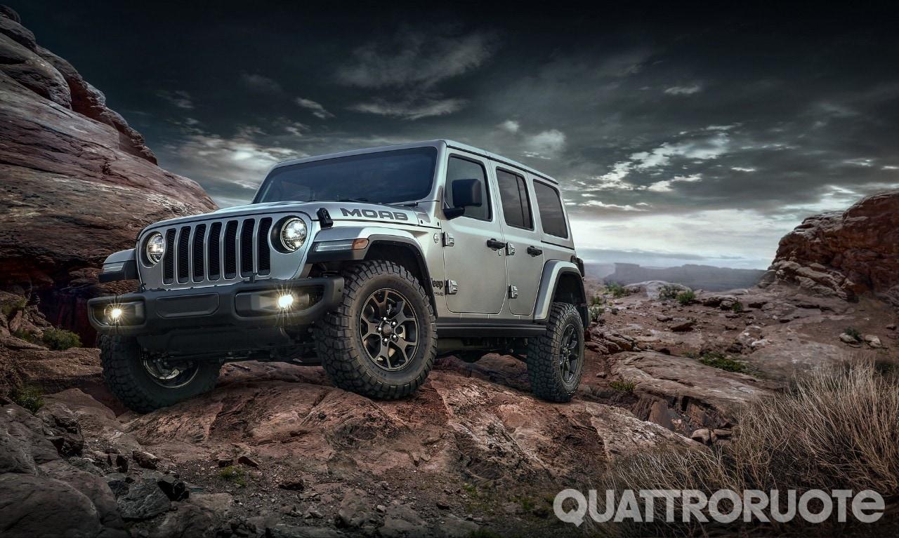 Jeep Wrangler - La Moab Edition debutta in gamma