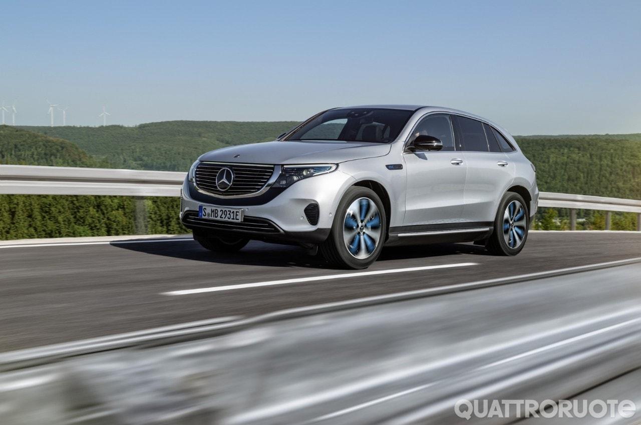 Mercedes EQC - La Suv elettrica che apre una nuova era ...
