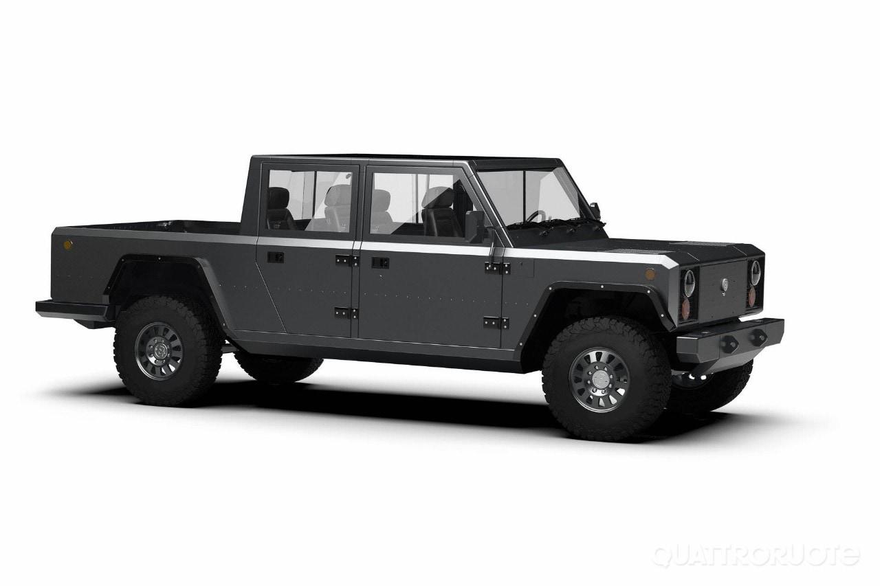 Bollinger B2 - Il pick-up elettrico da 527 CV