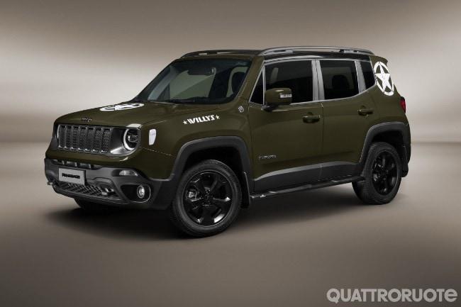 Salone Di San Paolo La Jeep Renegade Willys E Le Altre Novita