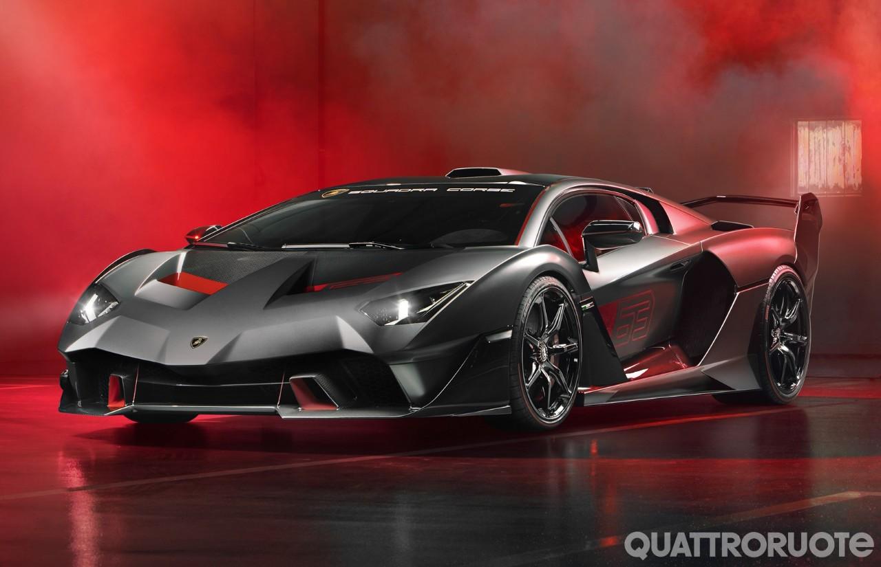 Lamborghini Alston SC18 - La one-off stradale è nata in pista