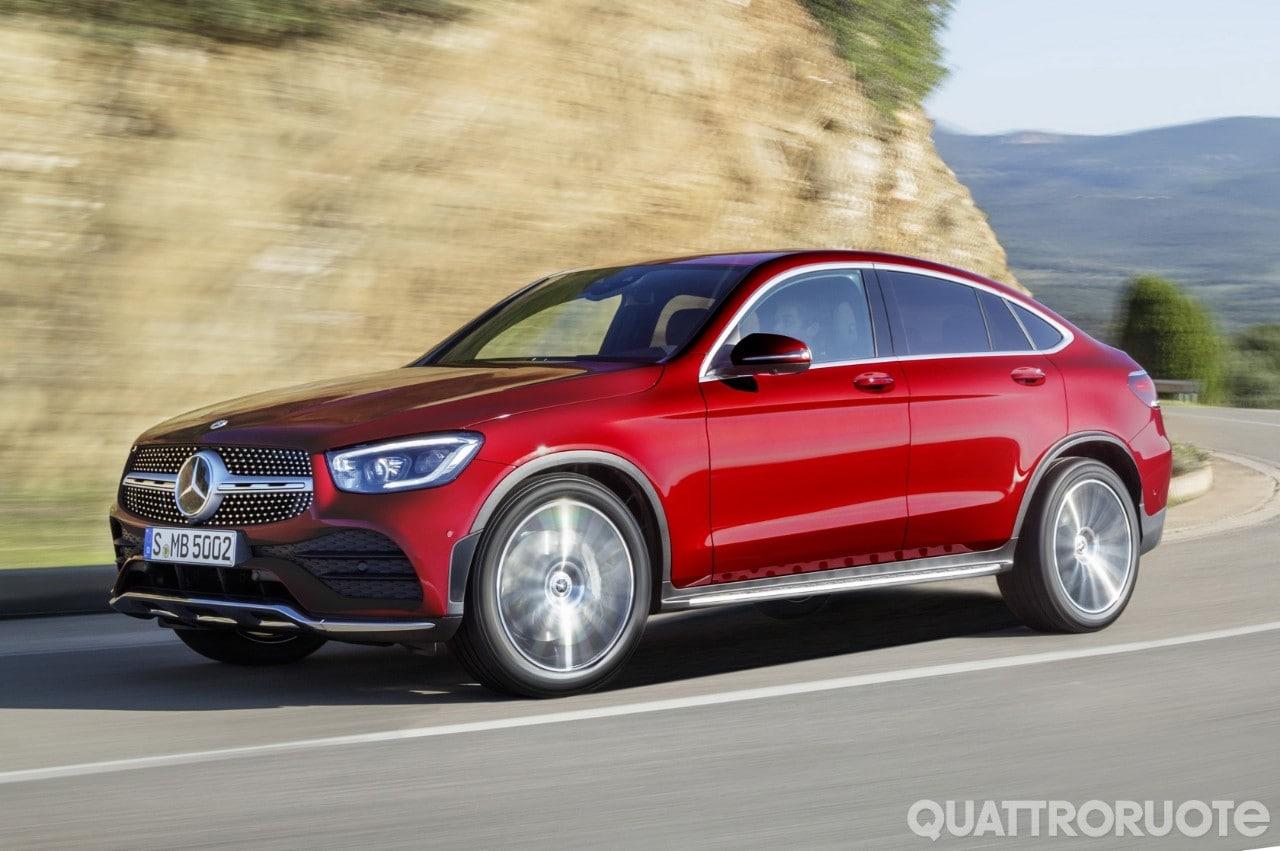 Mercedes-Benz GLC - Nuovo look anche per la Coupé
