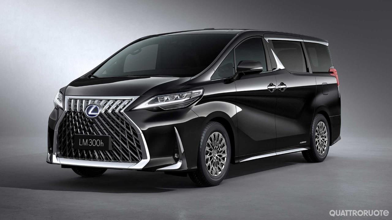 Lexus LM - In Cina debutta il van di lusso