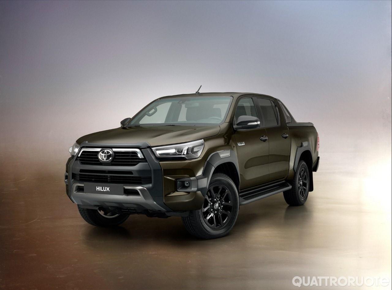 Toyota Hilux - I dettagli del restyling