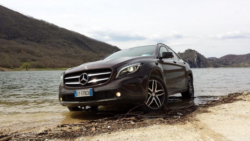 Mercedes GLA 200 CDI 4Matic Enduro - Su Strada E In Offroad Con La Versione Rialzata - Primo ...