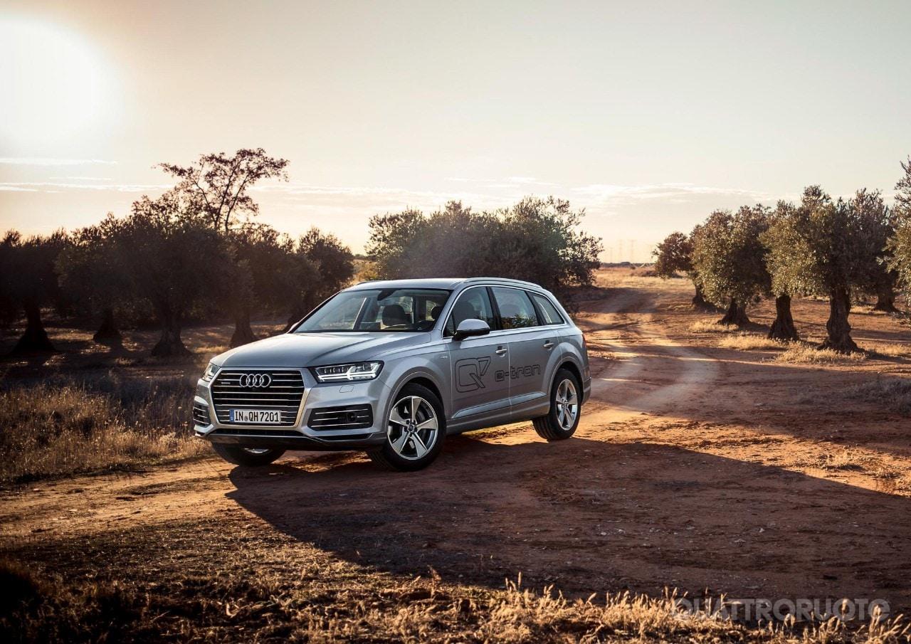 Audi Q7 e-tron - Al volante della Suv ibrida plug-in