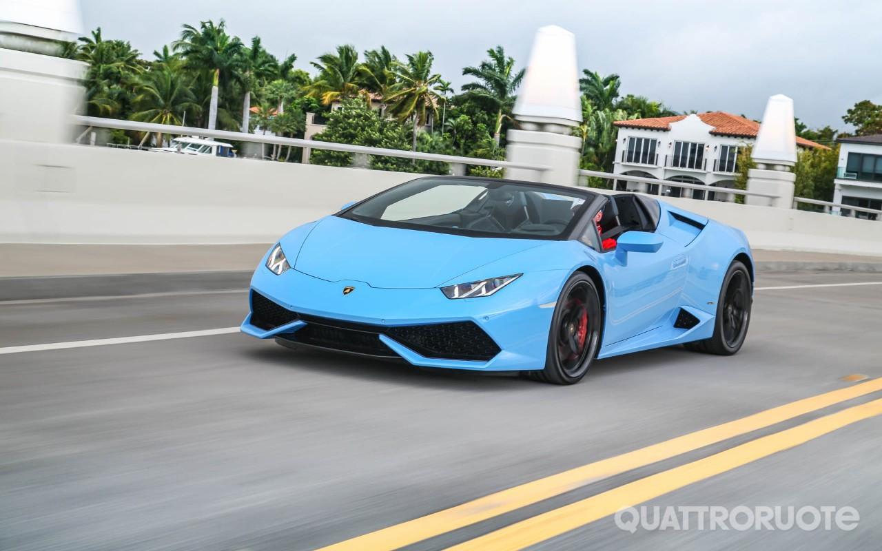 Lamborghini Huracán Spyder - Segni particolari: bellissima