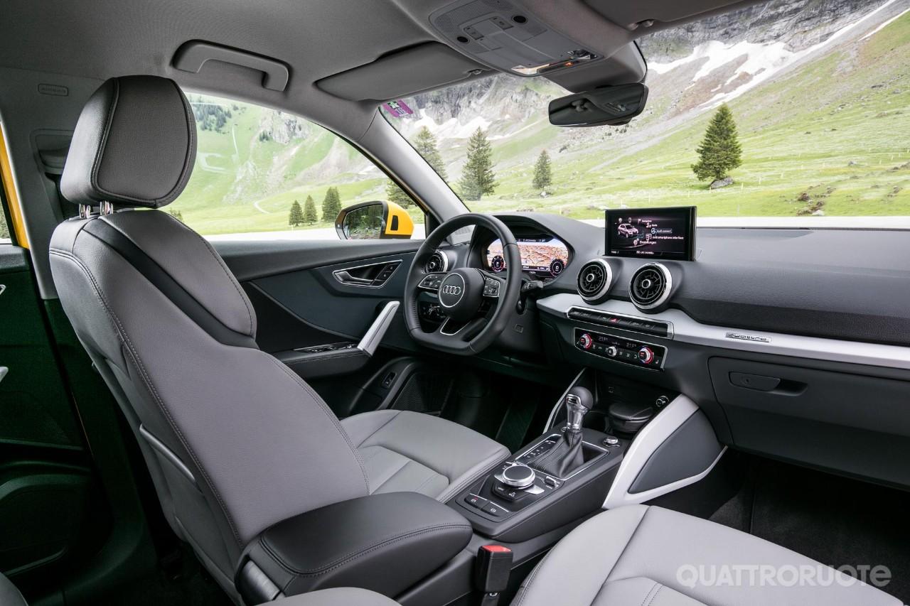 Audi q2 primo contatto e opinioni al volante della 1 6 tdi 116 cv quattroruote it
