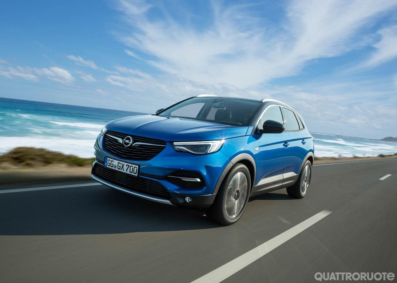 Opel primo contatto e opinioni al volante della for Interieur opel grandland x