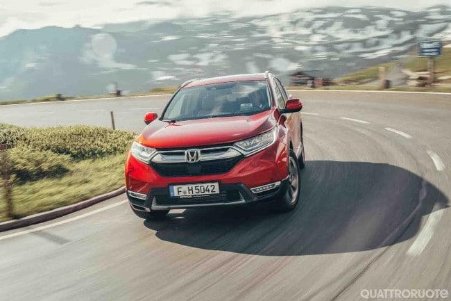 Honda Cr V Primo Contatto E Opinioni Al Volante Della 15 Vtec