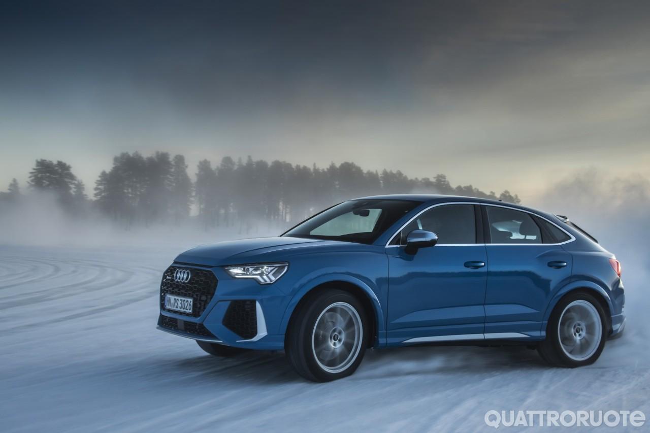 Audi - Sul ghiaccio con la RS Q3 Sportback - VIDEO