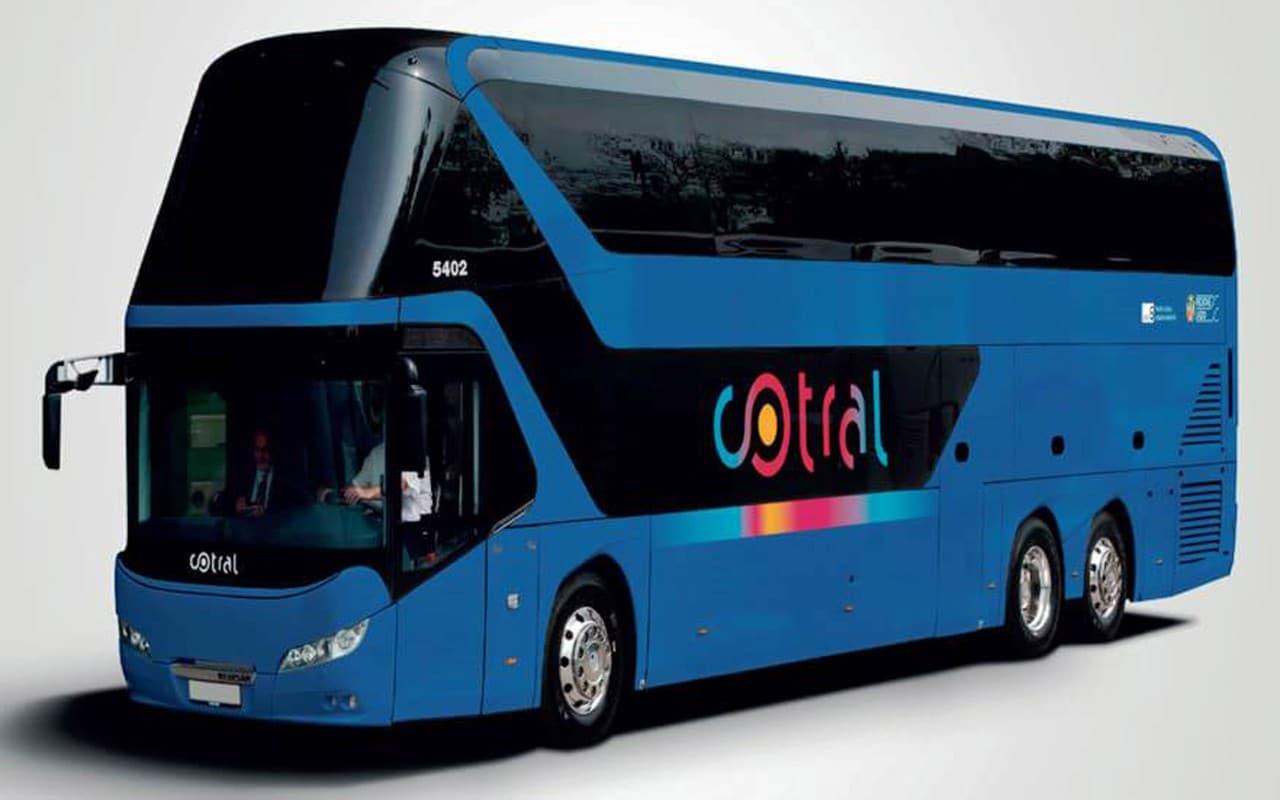 Cotral 340 bus due piani di rinnovamento for Piani di costruzione del negozio con alloggi