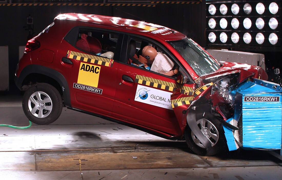 Global NCapI crash test di Kwind e Mobilio