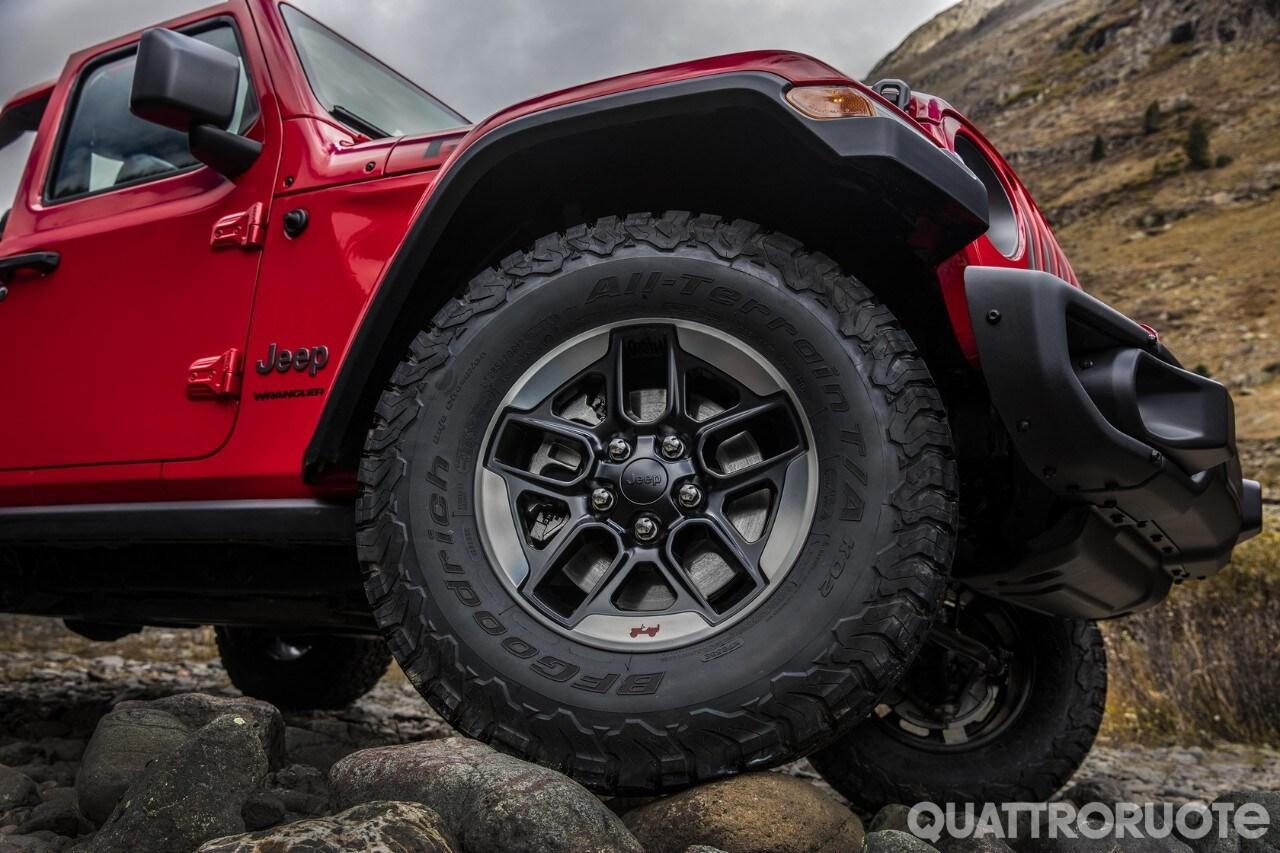 Jeep Wrangler - Richiamo per le saldature del telaio