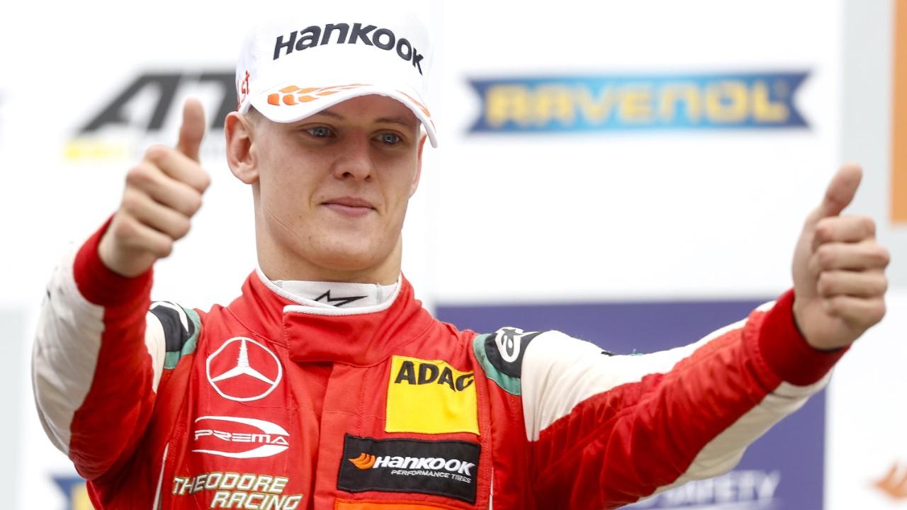 Mick Schumacher - suo il titolo europeo di Formula 3