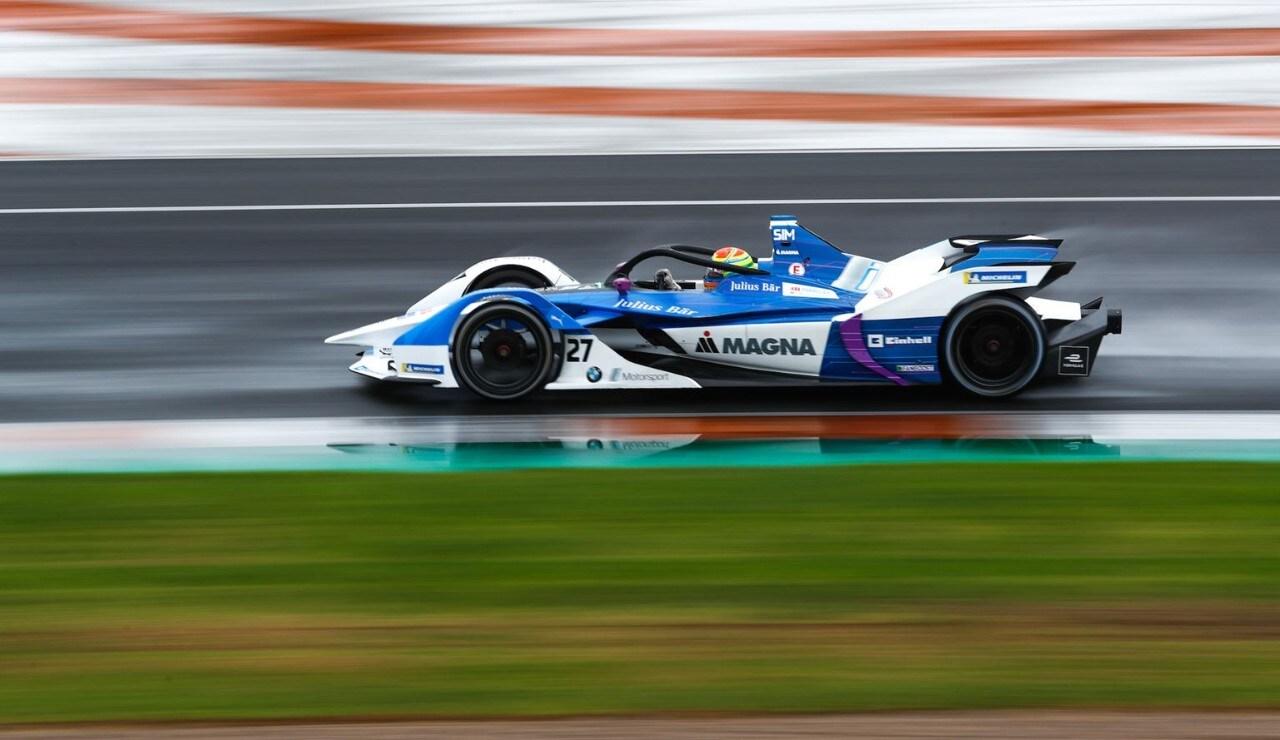 Formula E - La BMW chiude i test di Valencia al comando