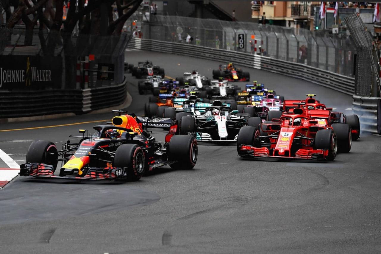 Formel 1 Monaco Start