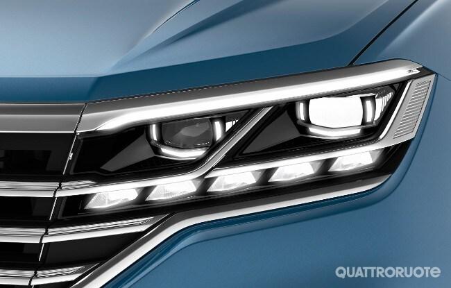 Volkswagen come cambierà l illuminazione delle auto