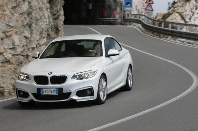 bmw 220d coupé msport - prova e opinioni - più equilibrata e