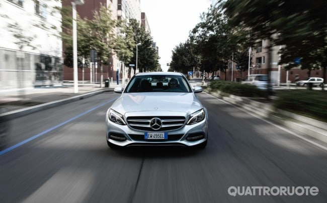 Mercedes Classe C 300 Hybrid Prova E Opinioni Quando L Ibrida