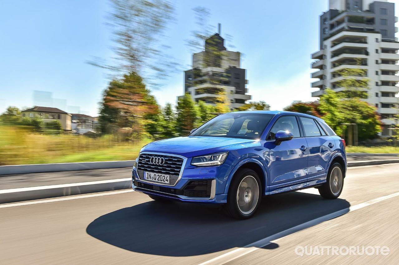 Audi q2 prova e opinioni la prova della 2 0 tdi quattro s tronic sport quattroruote it