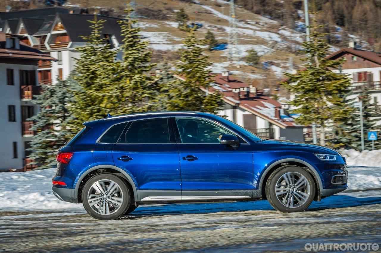 Audi q5 prova e opinioni la prova della 2 0 tdi 190 cv quattro s tronic quattroruote it