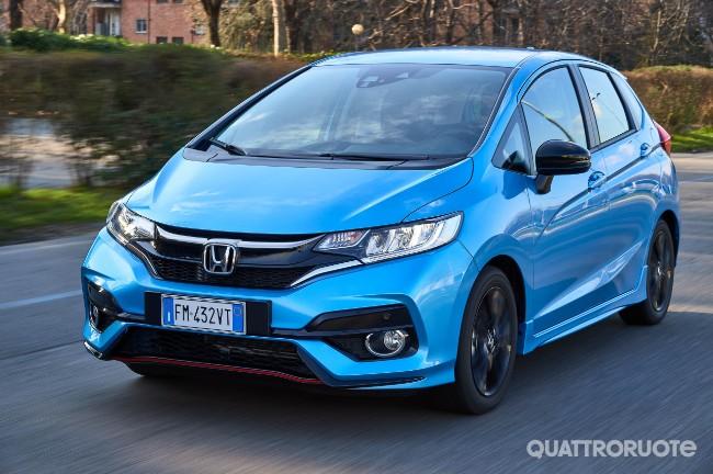 Honda Jazz Prova E Opinioni La Prova Della 15 I Vtec Cvt
