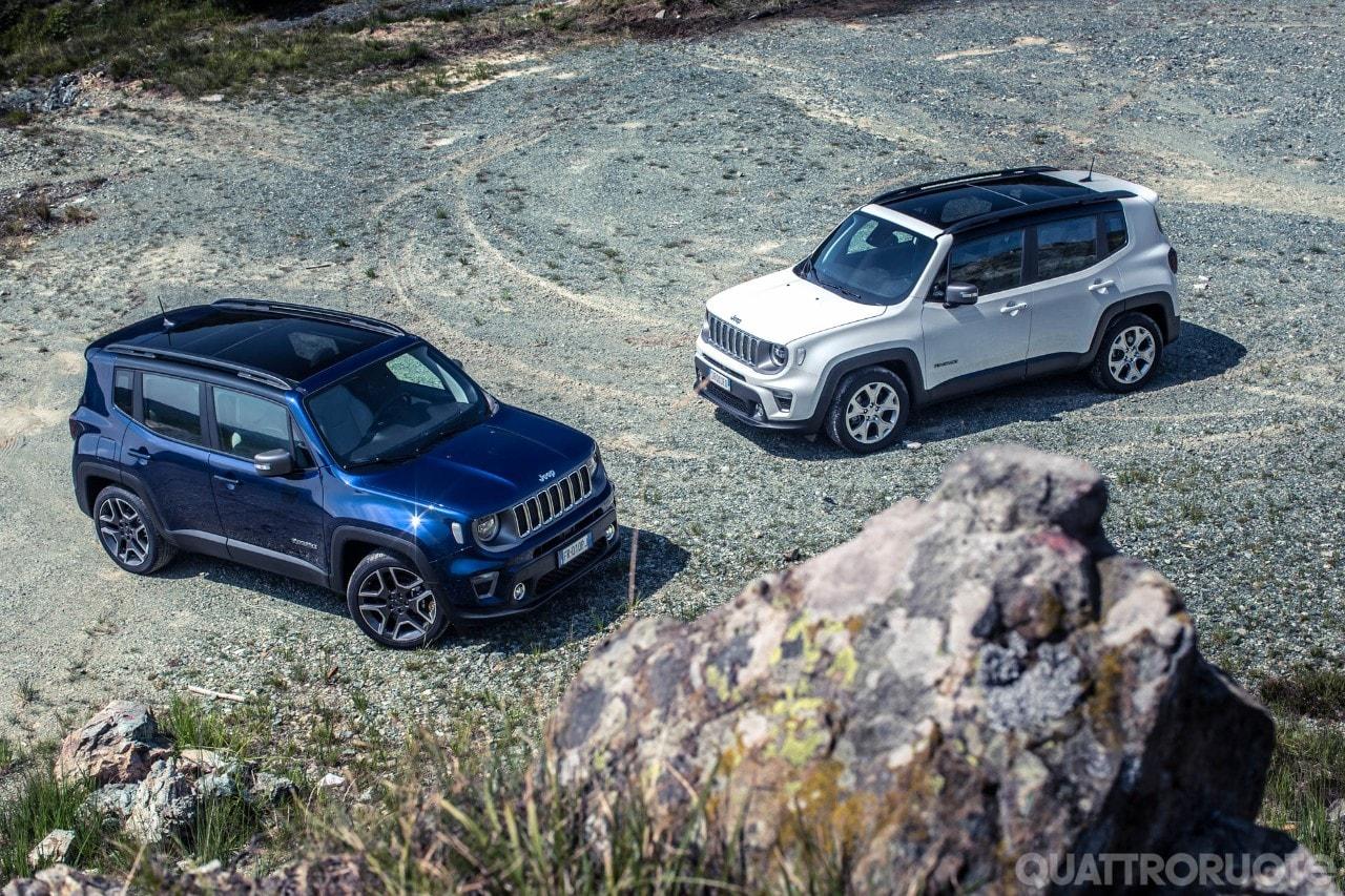 Su Quattroruote di settembre - La prova della Jeep Renegade