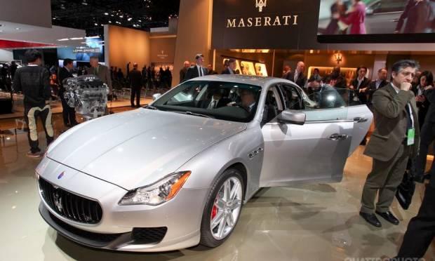 Maserati Quattroporte [live]