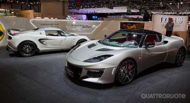 Lotus Evora 400 (live Ginevra 2015)