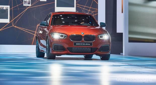 BMW M135i xDrive (live Ginevra 2015)