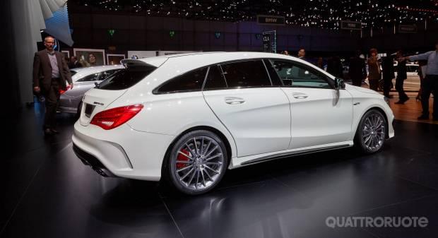 Mercedes-AMG CLA 45 Shooting Brake (live Ginevra 2015)