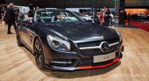 Mercedes-Benz SL 400 Mille Miglia 417 (live Ginevra 2015)