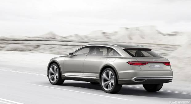 Audi prologue allroad concept (2015)