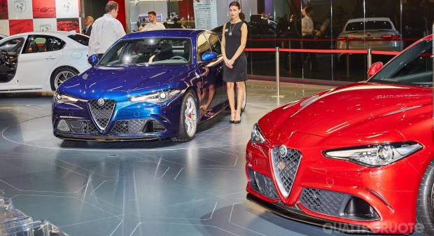 Alfa Romeo Giulia Quadrifoglio [live]