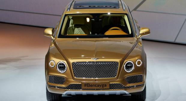 Bentley Bentayga [live]