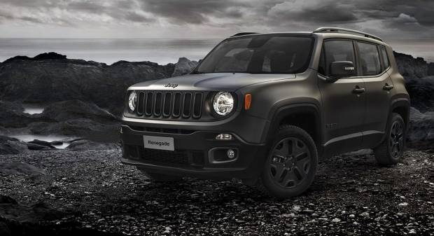 Jeep Renegade Night Eagle (2015)