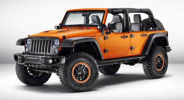 Jeep Wrangler Sunriser (2015)
