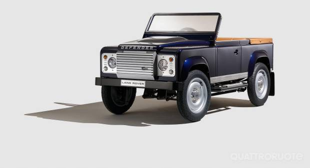 Land Rover Defender Pedal Car Concept (2015)