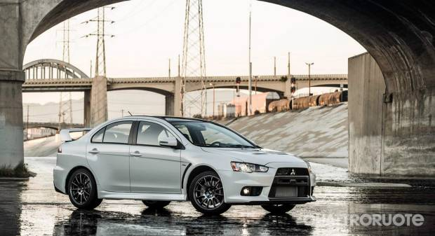 Mitsubishi Lancer Evolution Final Edition (2015)
