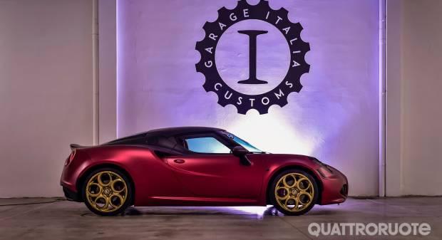 Alfa Romeo 4C La Furiosa (2015)