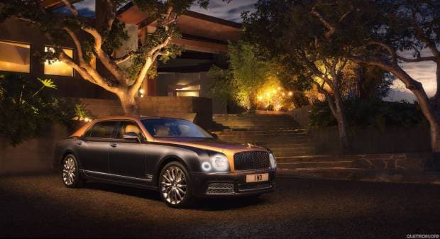 Bentley Mulsanne EWB (2016)