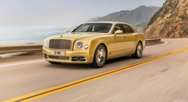 Bentley Mulsanne Speed (2016)