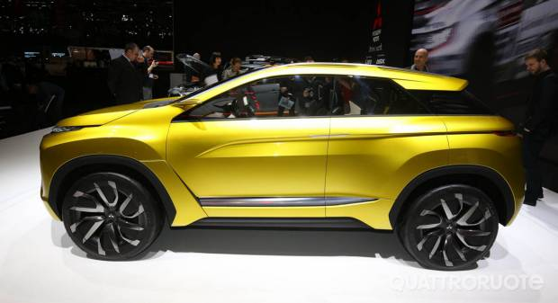 Mitsubishi EX Concept LIVE