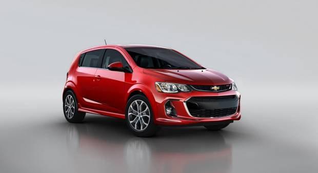 Chevrolet Sonic (2016)