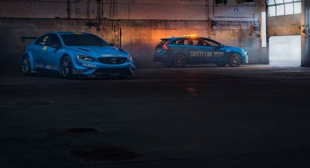 Volvo V60 Polestar WTCC Safety Car (2016)